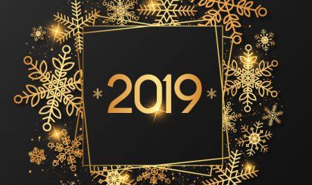 Nos Meilleurs Vœux pour la Nouvelle Année 2019